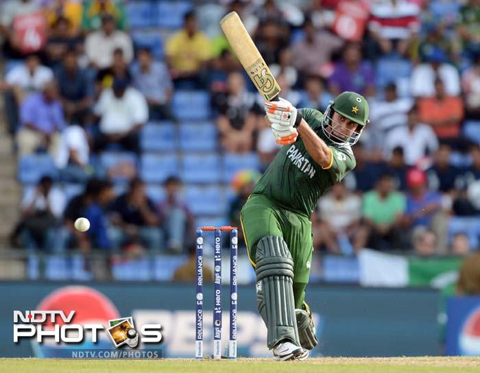 He may have missed out against India after being run-out without facing a single delivery. Since, Nasir Jamshed has batted superbly and can reverse fortunes batting at three. The early strike has to be backed up with his wicket.<br><br>In his strength also lies his team's weakness. His wicket can be a major dent in Pakistan's battle plans.