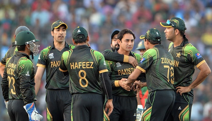 Saeed Ajmal weaved his magic once again, finising with figures of 2/20.