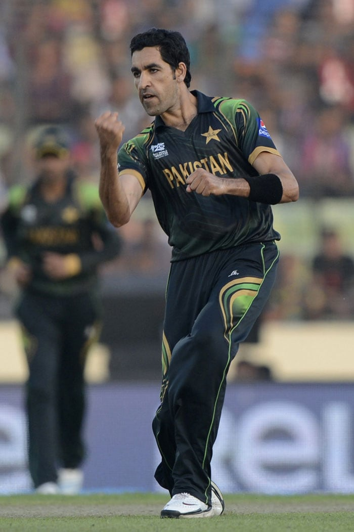 Umar Gul (3/30), who dismissed Shakib-al-Hasan and brought a virtual end to B'desh's resolve, was the pick of the bowlers for Pakistan.