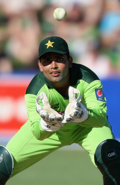 <b>KAMRAN AKMAL</b><br><br> <b>Age: </b>29.<br><b>Role: </b>Right-hand batsman, Wicket-keeper<br> <b>Stats: </b>ODIs 129, Runs 2,717, Highest 124, Average 27.17, Hundreds 5, Fifties 8, Strike-Rate 85.17; Catches 128, Stumpings 21.<br><br> Kamran is a dashing batsman who has achieved success as opener in one-day cricket, giving Pakistan an option to use an extra bowler. His wicket-keeping at times falls short of international standards, causing Pakistan some serious damage.(Photo: Getty Images)