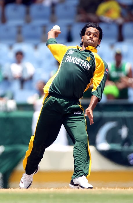 <b>MOHAMMAD HAFEEZ</b><br><br> <b>Age: </b>30.<br><b>Role: </b>Right-hand batsman, Right-arm off-spinner<br> <b>Stats: </b>ODIs 64, Runs 1,410, Highest 115, Average 22.74, Hundreds 1, Fifties 7, Strike-Rate 63.85, Catches 26, Wickets 49, Best bowling 3-17, Average 35.26, Economy-Rate 4.53.<br><br> Hafeez is a useful all-rounder who until last year had not been able to turn his huge potential into notable performances. But the recent New Zealand tour, where he hit his first one-day hundred, may prove he is a worthy all-rounder who can play a lead role in World Cup.(Photo: Getty Images)