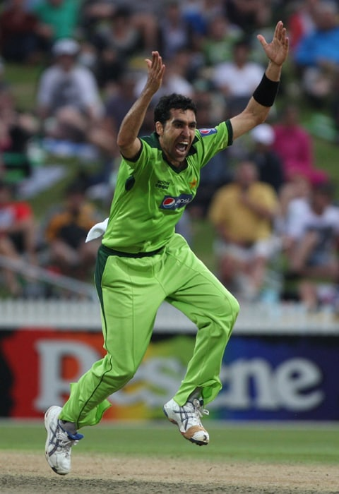 <b>UMAR GUL</b><br><br> <b>Age: </b>26.<br><b>Role: </b>Right-hand batsman, Right-arm fast<br> <b>Sats: </b>ODIs 80, Runs 246, Highest 33, Average 8.48, Strike-Rate 60.59, Catches 10, Wickets 119, Best bowling 6-42, Average 27.38, Economy-Rate 5.12<br><br> Gul is the focus of the Pakistan attack, guiding them to a runners-up spot in the inaugural World Twenty20 in 2007 before helping them to clinch the title in the next edition of the shortest form two years later. Gul is famous for his appreciable swing and lethal yorkers.(Photo: Getty Images)