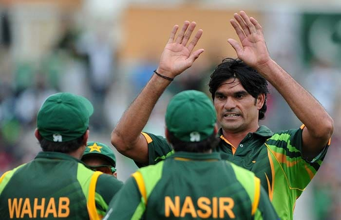 Mohammad Irfan rocked the West Indies top order picking up 2 quick wickets.