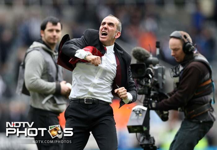 """Even captain John O'Shea raved about di Canio. """"The new manager has come in, and a new manager always has a positive effect. You can see what type of character he is on the sidelines."""" (AFP image)"""