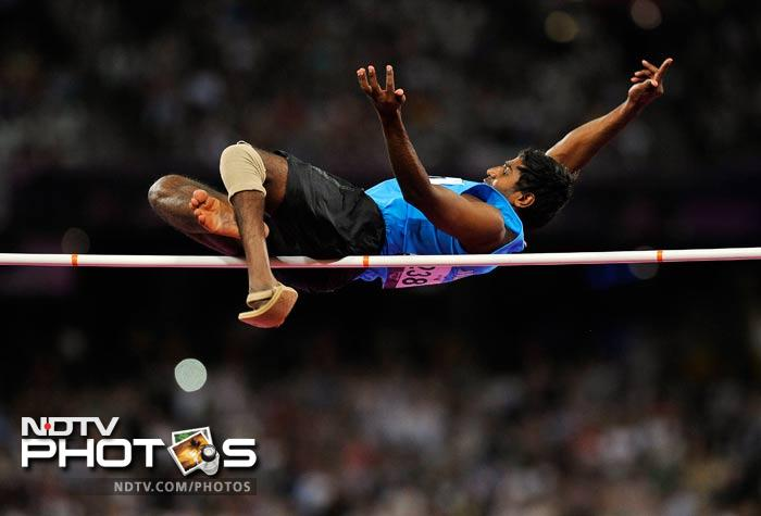 And while the Indian officials were, allegedly, busy assessing the comforts of the Games Village, athletes managed to give it their all. Grisha Hosanagara Nagarajegowda won the silver in the high jump event.