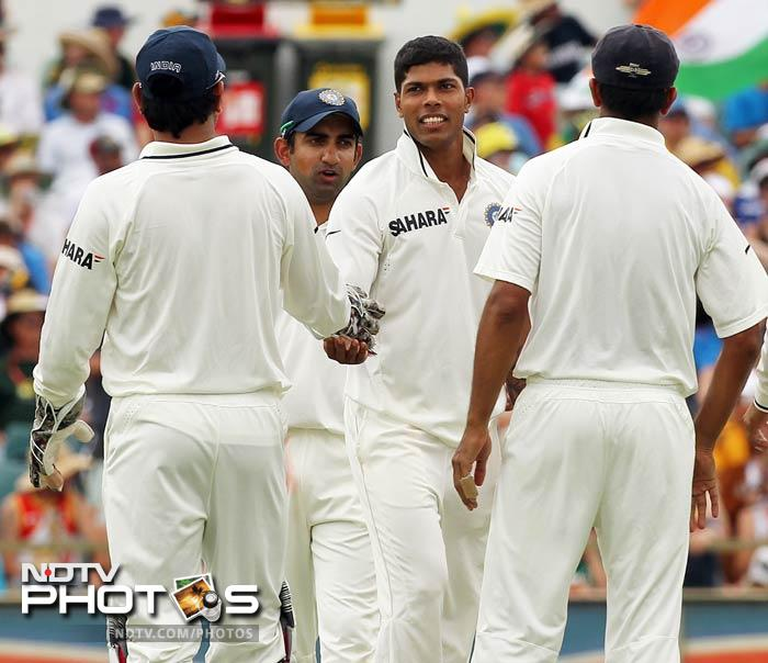 Umesh Yadav returned from here and wrapped the tail. Australia lost 7 wickets for 79.