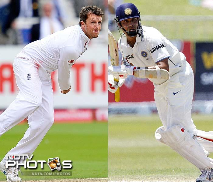 Graeme Swann recently became the top-ranked ODI bowler. He will need to get his limited overs' skill to Test cricket in the face of a wristy and patient VVS Laxman, a batsman with tons of runs in the longest format of the game.