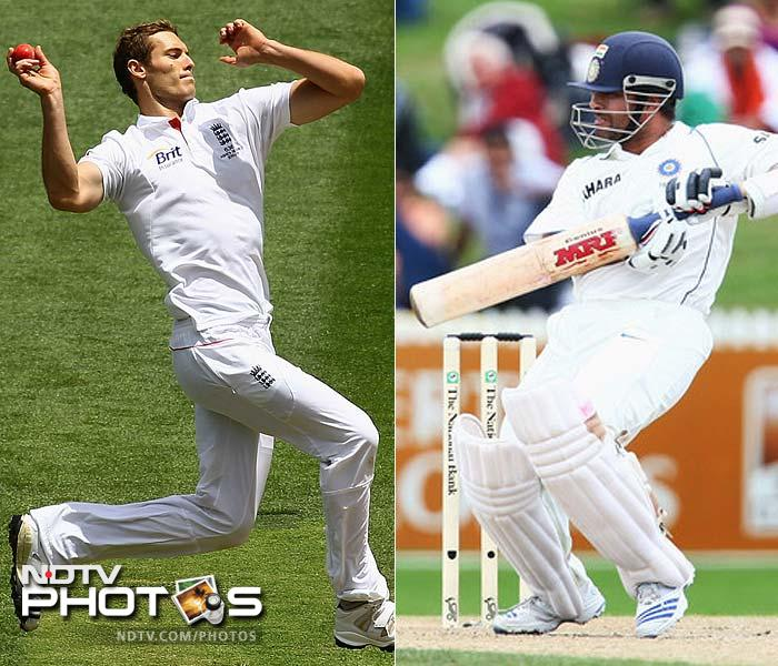 One has sheer class and talent to improve on his legendary career. The other has the audacity to challenge the superior might. Sachin's experience will be put to test against the exuberance of Chris Tremlett.