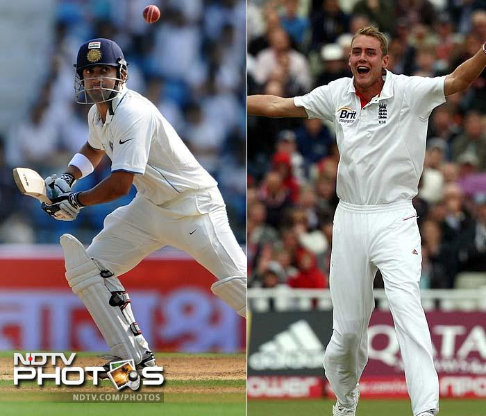 Both these players have a point to prove. While Gautam Gambhir is coming back from a shoulder injury, Broad's recent carnage against Nottinghamshire is a start to silence critics who blamed him for his lack of fitness recently.