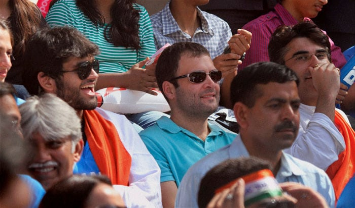 Rahul Gandhi is all smiles.<br>(Photo: PTI)