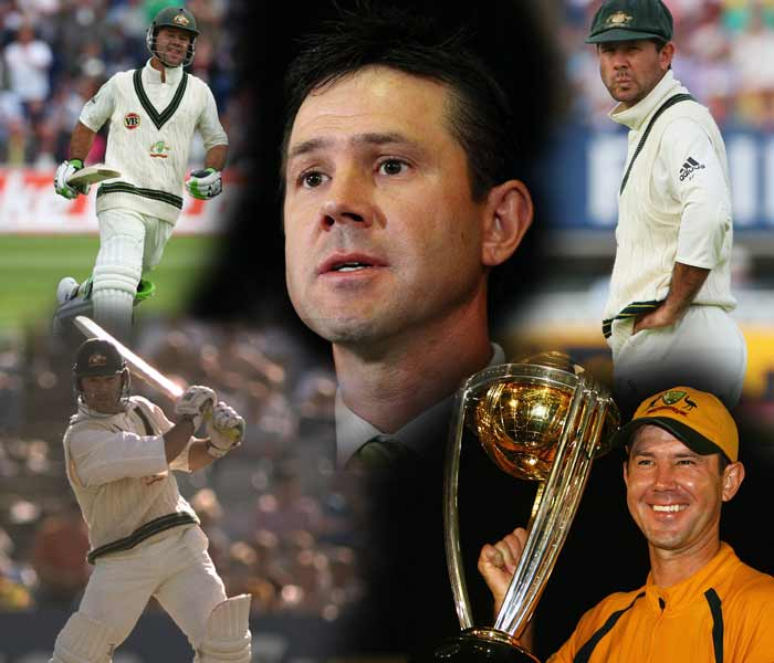 """It hasn't been to the level required for batsmen and players in the Australian team. My level of performance hasn't been good enough."" This is what former Australia captain Ricky Ponting had to say when he finally decided to call it a day from Test cricket on Thursday -- nine months after the talisman had retired from ODIs. Australia's highest scorer, having the number of centuries that's only less than Sachin Tendulkar, member of three World Cup winning squads, giving Australia nearly a decade-long supremacy -- Ponting has seen it all, and done it there. A look at the man's illustrious journey before going in to his last Test at the Perth."