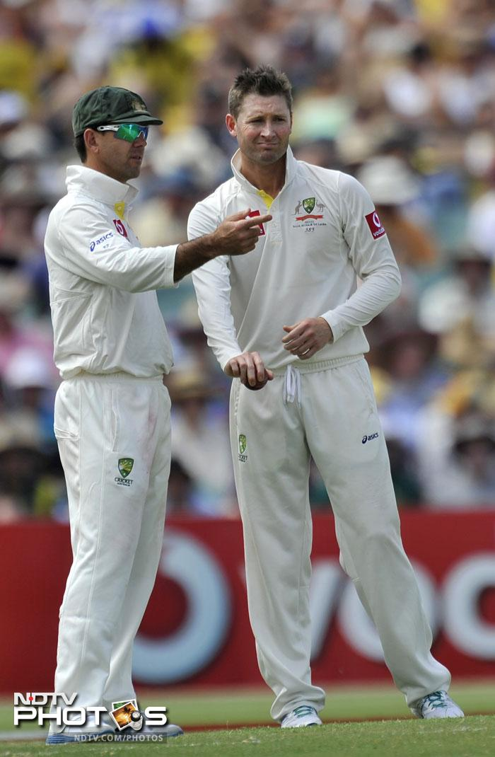Ponting's name can only be taken among the greatest of the greats to have played the game. He will leave Michael Clarke a legacy that will be hard to match up to. As of now, Ponting can only hope to out on high in his last Test at the Perth.
