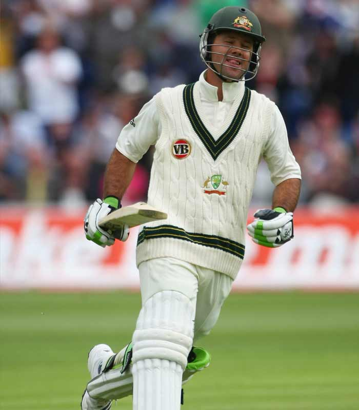 <b>2009, July:</b> Becomes Australia's highest Test run-scorer, passing Border's total of 11,174