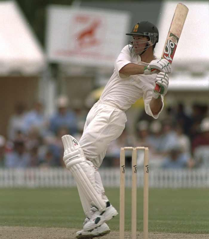 <b>1992, November:</b> Makes first-class debut for Tasmania aged 17
