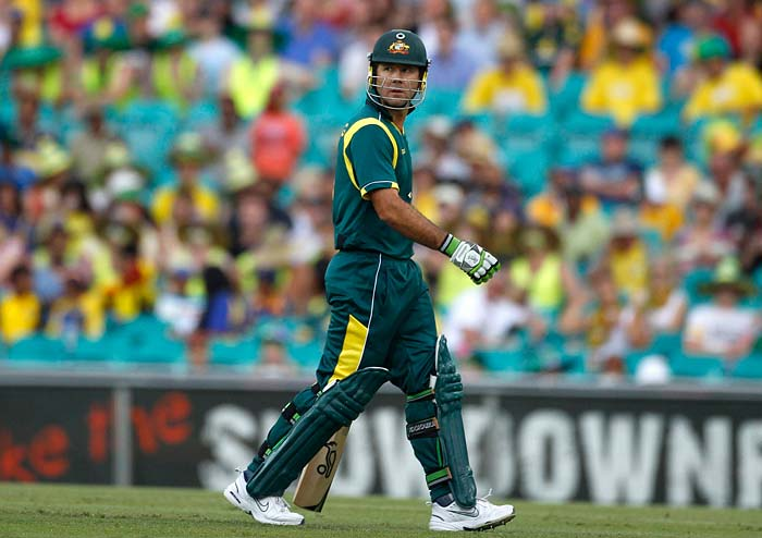 Second only to Sachin Tendulkar, Ricky Ponting walks out of the ODI stage with 13,704 runs in 375 matches at an average of 42.03. His tally of 30 hundreds is also second only to Tendulkar. But above all this is the fact that Australia won 25 times off the 30 times that Ponting slammed a ton. Here is a look at Punter's Top 10 innings in ODIs.