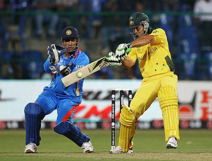 <b>124 off 133 balls vs India, February 2008:</b> Seven fours and a six - 34 runs - was all that Ponting got off boundaries but he still kept Australia's run-rate at a fantastic level. His innings at Sydney lifted the hosts to 317/7. In reply Gautam Gambhir smashed a hundred of his own but could not take India to win and Australia won by 18 runs.