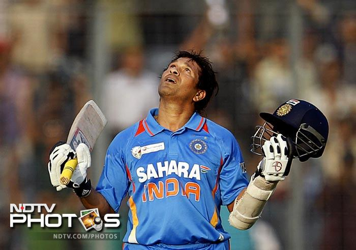 <b>Sachin's 100th ton took more than year to come:</b> India's master blaster Sachin Tendulkar scored his 99th international hundred against South Africa on March 12, 2011 during the World Cup. And the entire country dreamt that his hundredth hundred would come during the tournament itself. He came closer to it during the semi-final against Pakistan but fell in his 80s. And that much-hyped hundred took more than a year to become a reality. It came against Bangladesh during the Asia Cup but a shocking loss against the minnows took the fizz out of the big occasion.
