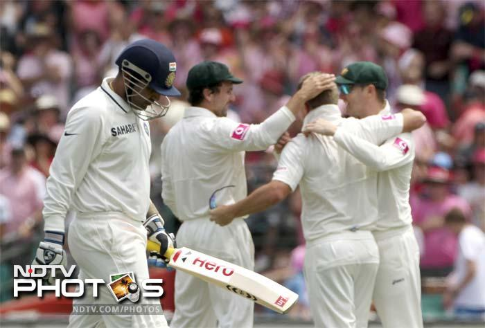 <b>Drop in Sehwag's form:</b> And Virender Sehwag did no good to himself with the bat. In 9 Tests, he could score just 484 runs. He averaged 10.25 against England and 24.75 against Australia.