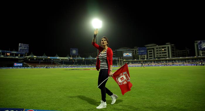 Kings XI Punjab team owner Preity Zinta is one of the most vocal and passionate supporters that this side could have ever wanted. <br><br>After disappointments in the previous six years of the Indian Premier League, the Bollywood actress found reason to show her trademark smile with her side winning its two opening matches of IPL 7. <BR><BR>(BCCI image)