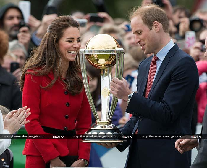 He who said cricket cannot be a fashionable sport was wrong. <br><br>Britain's Prince William and wife Kate Middleton wowed spectators when they showcased their skills with the bat on a visit to Latimer Square in Christchurch on Monday (April 14). <br><br>A look at the 'royal and regal' match on the pitch. <br><br>All images courtesy AFP.