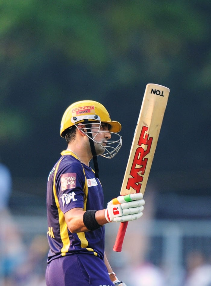 Gambhir said in a press conference later that he felt like playing an away match. (AFP PHOTO)