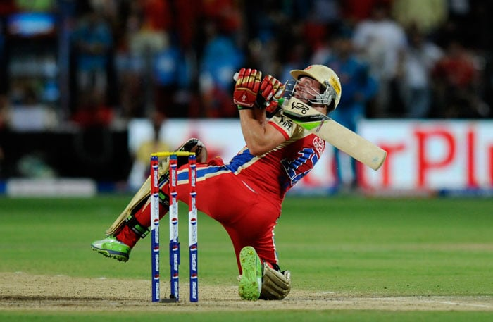 De Villiers was just 'out of this world' in his blistering knock of 50 from 23 deliveries. (BCCI Image)