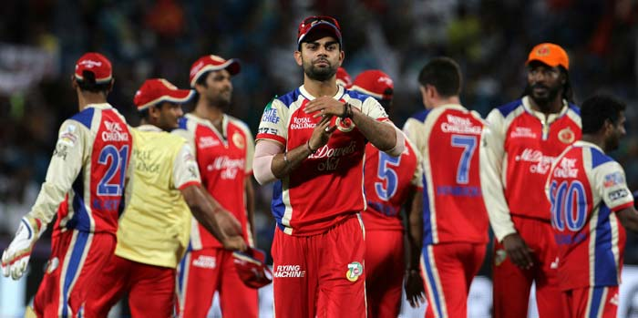 A rollicking 23-ball-50 by AB de Villiers gave Royal Challengers Bangalore hard fought win over Pune Warriors India in the 46th match of the Indian Premier League 2013, being played in Pune here on Thursday. <br> R Vinay Kumar (3/31) continued to impress in the tournament while Murali Kartik (2/29) too was exceptional on the day. (BCCI Image)