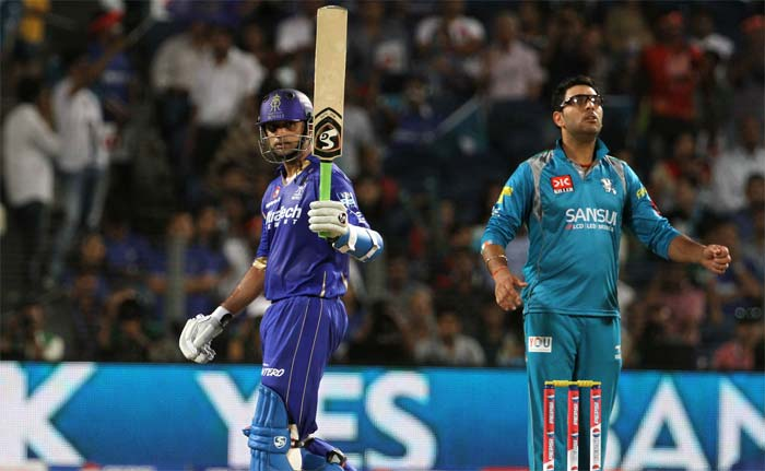 Dravid though held fort as he reached his second fifty of the IPL 2013, not too quick or flamboyant but effective. (BCCI Image)