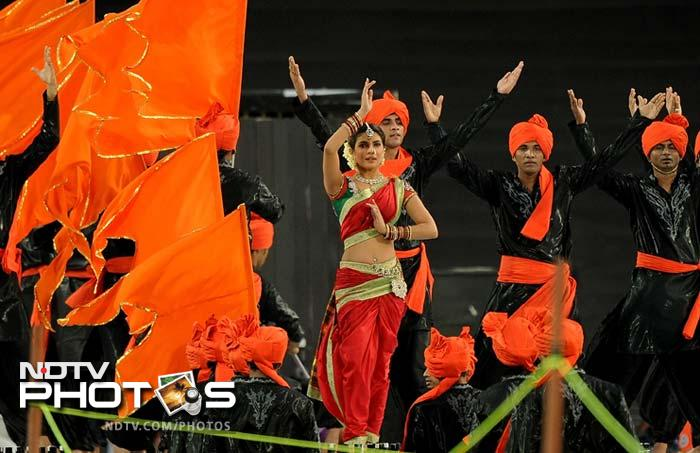 Priyanka Chopra had also performed at the IPL 5 opening ceremony. (AFP PHOTO/Punit PARANJPE)