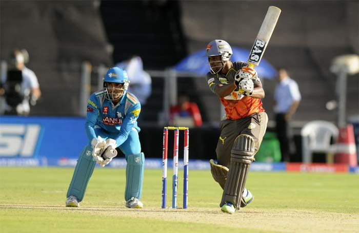 Orissa batsman Biplab Samantray top scored for the Sunrisers, his 37 came of 37 balls. (BCCI image)