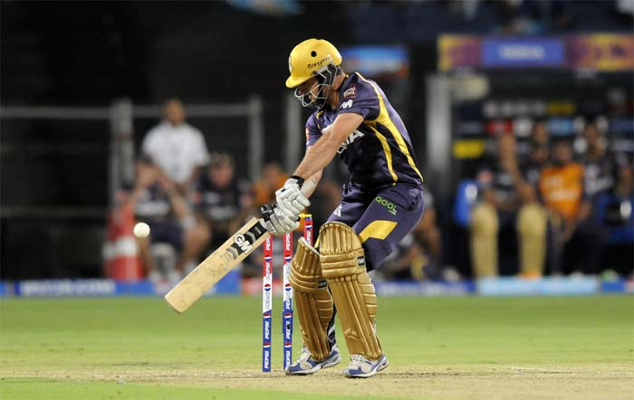 But Ryan ten Doeschate gave the Kolkata innings the impetus it needed with a 21-ball 31 that included three fours and a six. Dutchman Ten Doeschate was playing his first game this IPL season. (BCCI image)