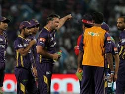 Kolkata Knight Riders' 46-run win over Pune Warriors