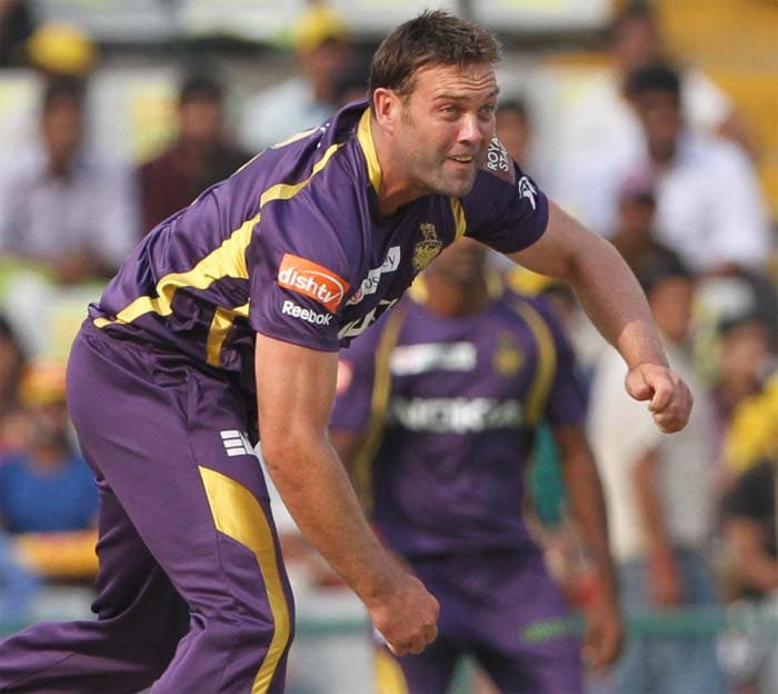 South African veteran all-rounder Jacques Kallis came up with yet another spirited show with the ball, digging the ball short at times along with chipping in with the slow off cutters. Kallis ended up with three wickets overall. (BCCI image)