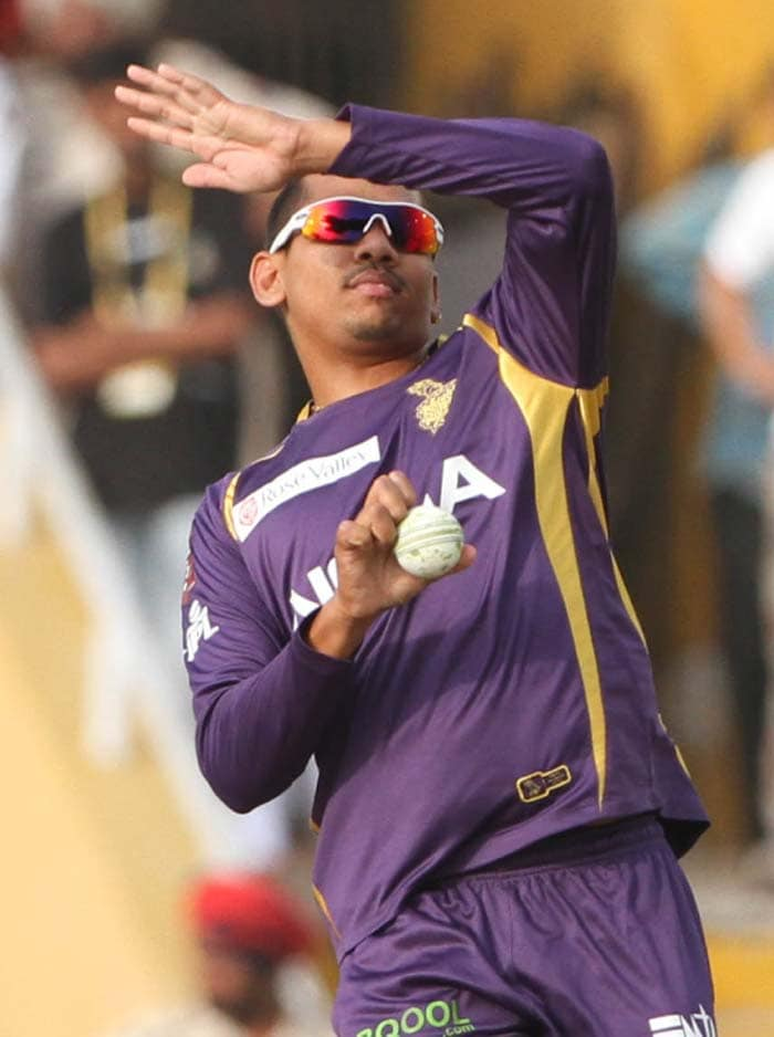 Then came along Sunil Narine and what followed was simply spectacular. (BCCI image)