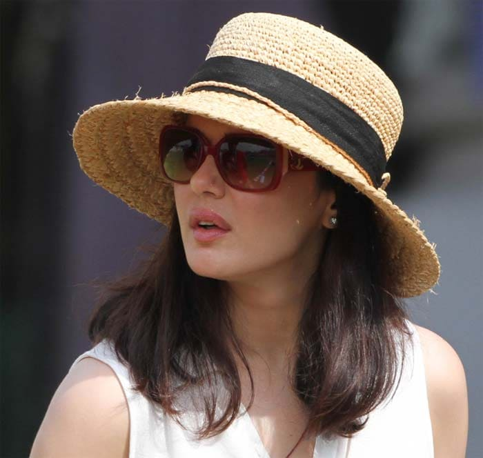 Kings XI Punjab owner Preity Zinta was in a pensive mood once Narine took the hat-trick. The flurry of wickets pegged Punjab back and gave Kolkata full control of the game. However, the Punjabi boys did not give it up. (BCCI Image)