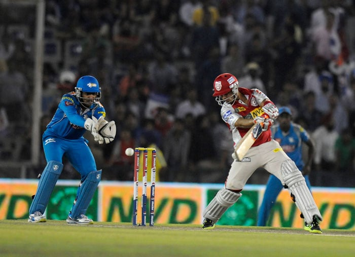 Youngsters Mandeep Singh and Manan Vohra then proceeded to steady the ship as well as counter-punch Pune bowling. Mandeep, who has been persisted with despite below-par performances, was particularly punishing to begin with. Vohra too gathered pace as Kings XI put up a brave face. (BCCI Image)