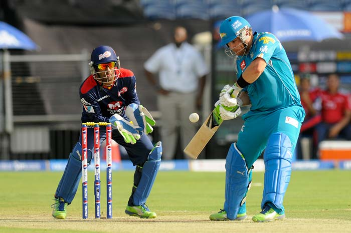 Aaron Finch at the other end was in sublime form smashing 52 off just 34 balls. (BCCI Image)