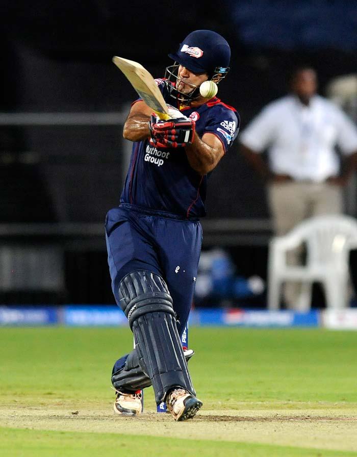 Irfan Pathan hit 24 trying to make a match of it. (BCCI Image)