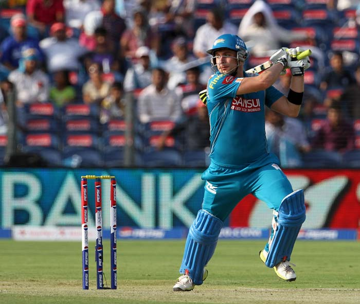 Luke Wright gave the innings a late boost with a 23-ball 44. (BCCI Image)