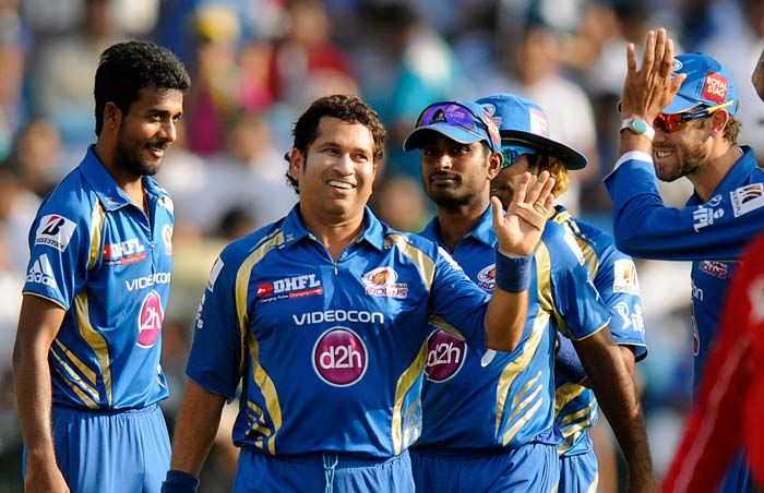 Mumbai Indians moved up to second spot with a five-wicket over Pune Warriors India in Pune. (BCCI Image)