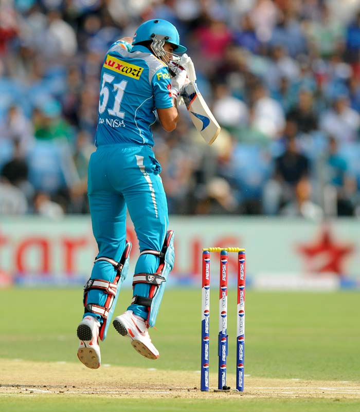 Manish Pandey hit 29 quick runs for Pune. (BCCI Image)