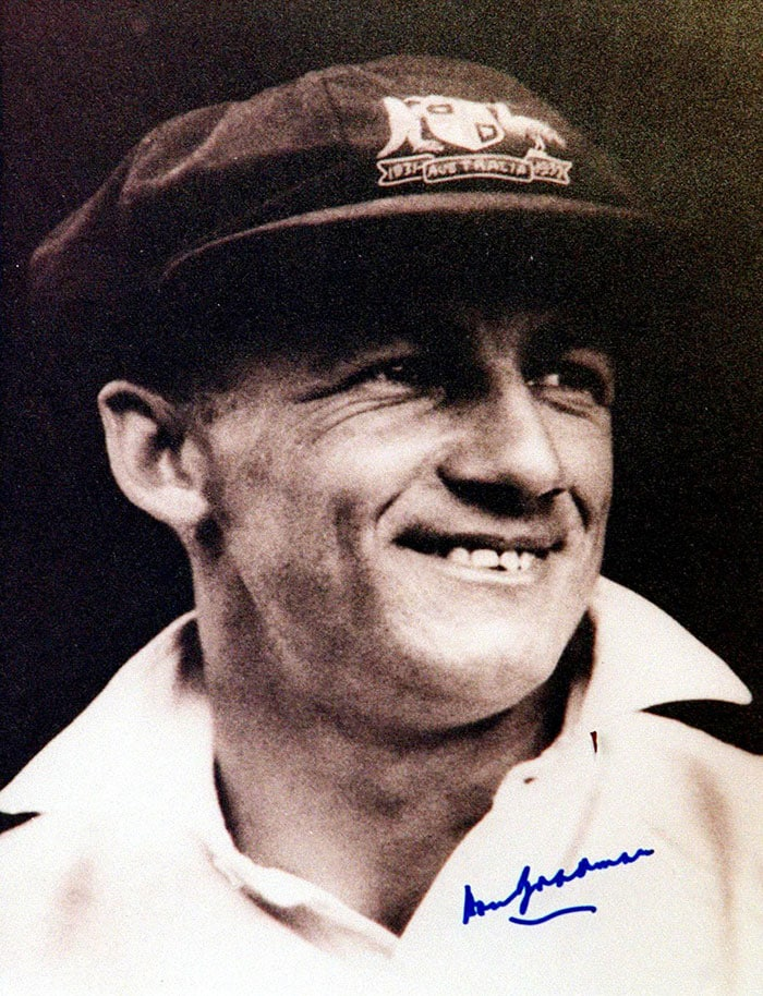 """Cricket legend Sir Don Bradman, arguably the best batsman ever to play the game, had this to say about Sachin Tendulkar after watching him play. Don Bradman: """"I saw him playing on television and was struck by his technique, so I asked my wife to come look at him. Now I never saw myself play, but I felt that this player is playing with a style similar to mine, and she looked at him on Television and said yes, there is a similarity between the two...his compactness, technique, stroke production... it all seemed to gel!"""""""