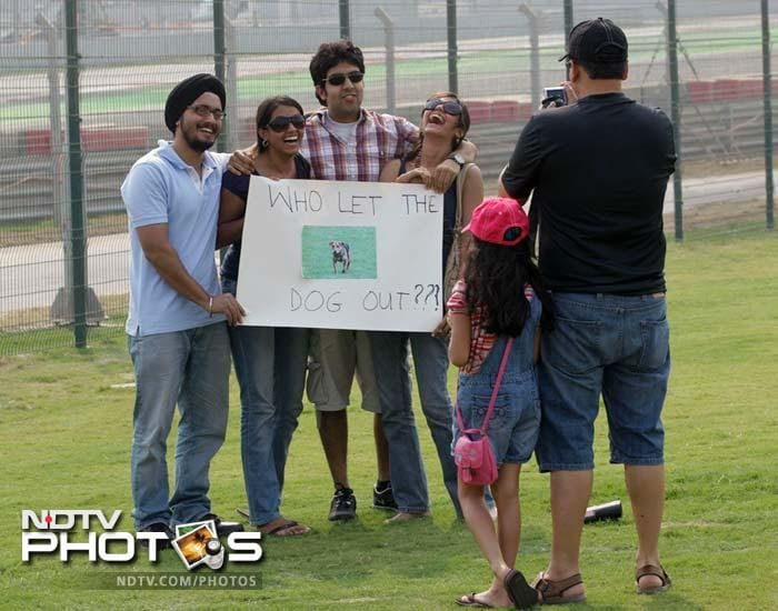 Spectators clicked away to glory and made the most of a pleasant Delhi Sunday.