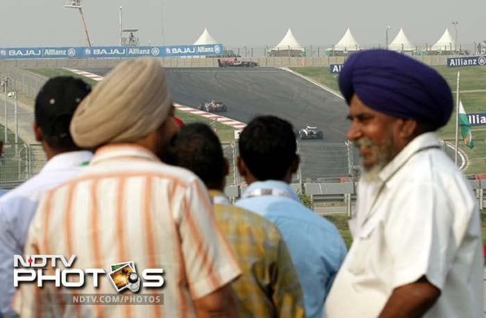 Fans enjoy proceedings as they got used to what racing in F1 is all about.