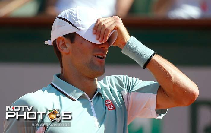 Djokovic did not have much to show forth in the third set which he lost 6-1 to Nadal.