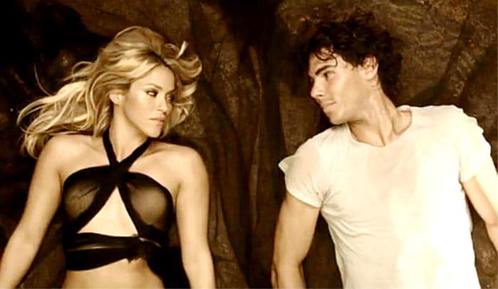 Rafael Nadal was linked with musical prodigy Shakira after the two featured in a steamy video for Shakira's song Gypsy which was released in early 2010.<br><br> Shakira said that she chose Nadal for the song because she could identify with him as both the superstars had started their careers at a very young age and both were very dedicated in their respective fields.
