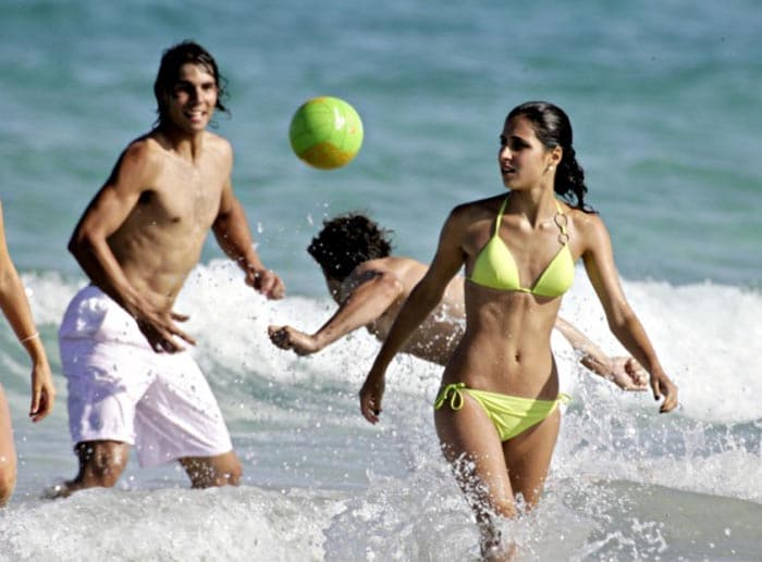 """Rafael Nadal's personal life is equally happening as he dates 20 year-old Francesca """"Xisca"""" Perello, who belongs to his native town.<br><br> Xisca is believed to be a friend of Nadal's sister and they have known each other for a long time."""