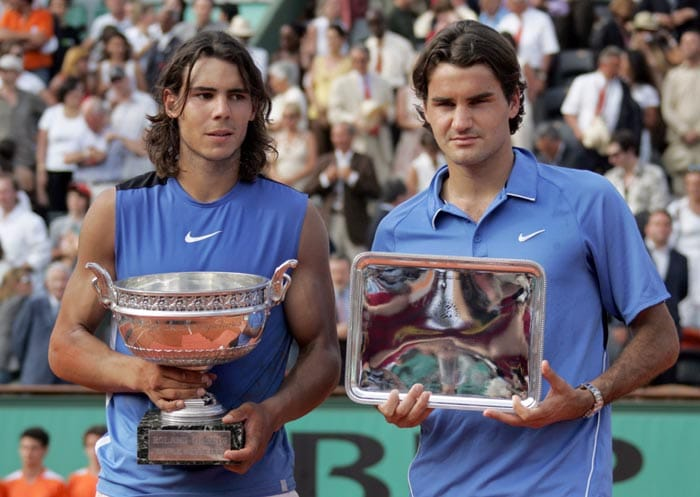 Nadal came back to the scene of his first success in 2006 and made it two in a row at the Roland Garros when he got the better of World No 1 Roger Federer 1-6, 6-1, 6-4, 7-6 in a comeback win.<br><br> This was the beginning of a great rivalry that has enthralled tennis fans since then. The same year Nadal reached the final of the Wimbledon and became the first Spaniard to do so since Manuel Santana in 1966, but lost to Roger Federer in four sets.