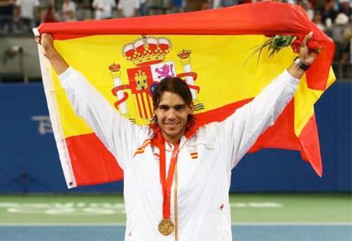 Nadal once again stamped his authority on international tennis as he went on to win the Gold medal in the 2008 Beijing Olympics.<br><br> He won the Olympic gold medal beating Chile's Fernando Gonzalez, 6-3, 7-6 (2), 6-3.