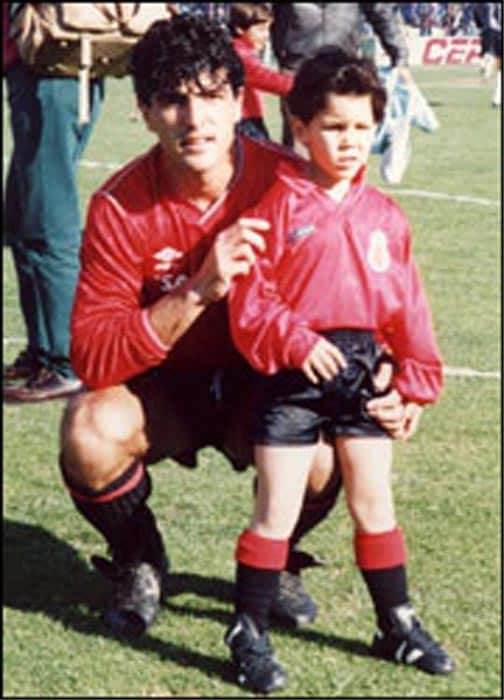 Rafa's sporting lineage comes from his other uncle Miguel Angel Nadal who played professional soccer for the La Liga Clubs RCD Mallorca and FC Barcelona.<br><br> He was a regular in the Spanish national team and appeared for the La Furia Roja in 62 matches including the 1998 and 2002 World Cup.
